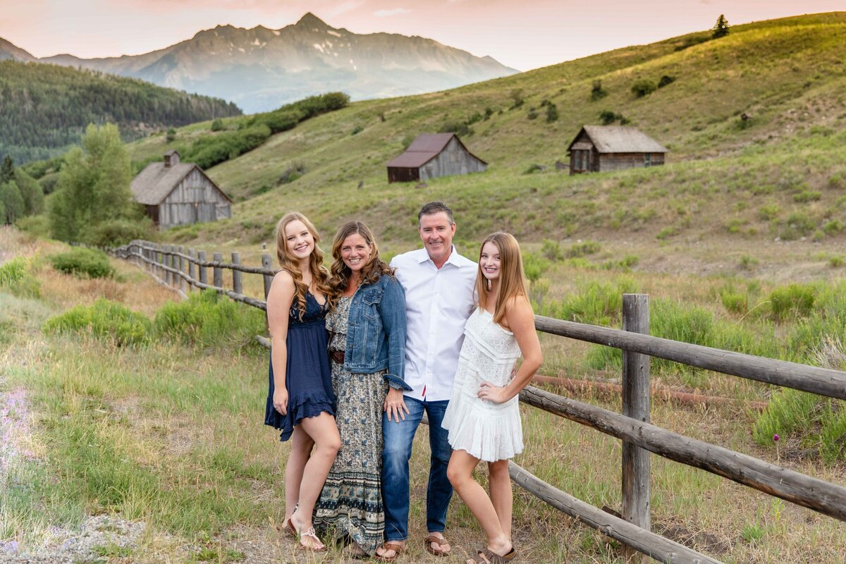 Telluride family portrait photography
