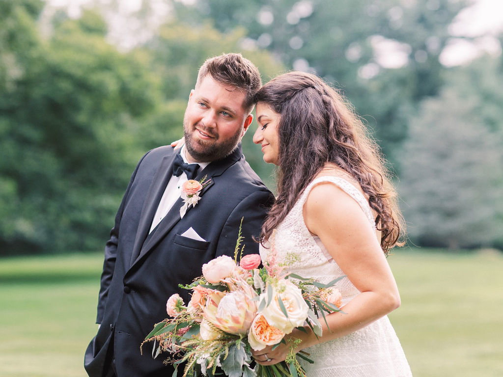 groom bride greenville country club delaware florist