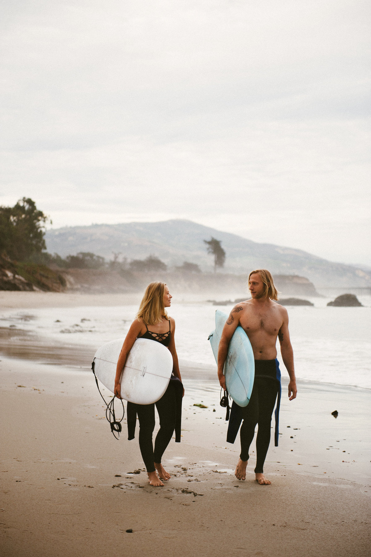 Lush Palm, surfing lifestyle photography