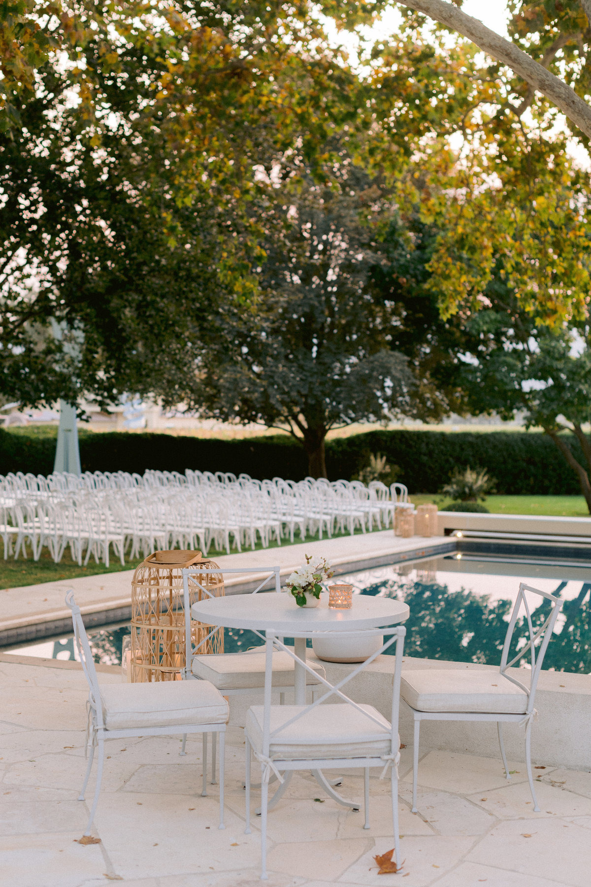Napa Valley Wedding at Private Residence in Napa Valley by Jenny Schneider Events. Photo by  Melanie Duerkopp.