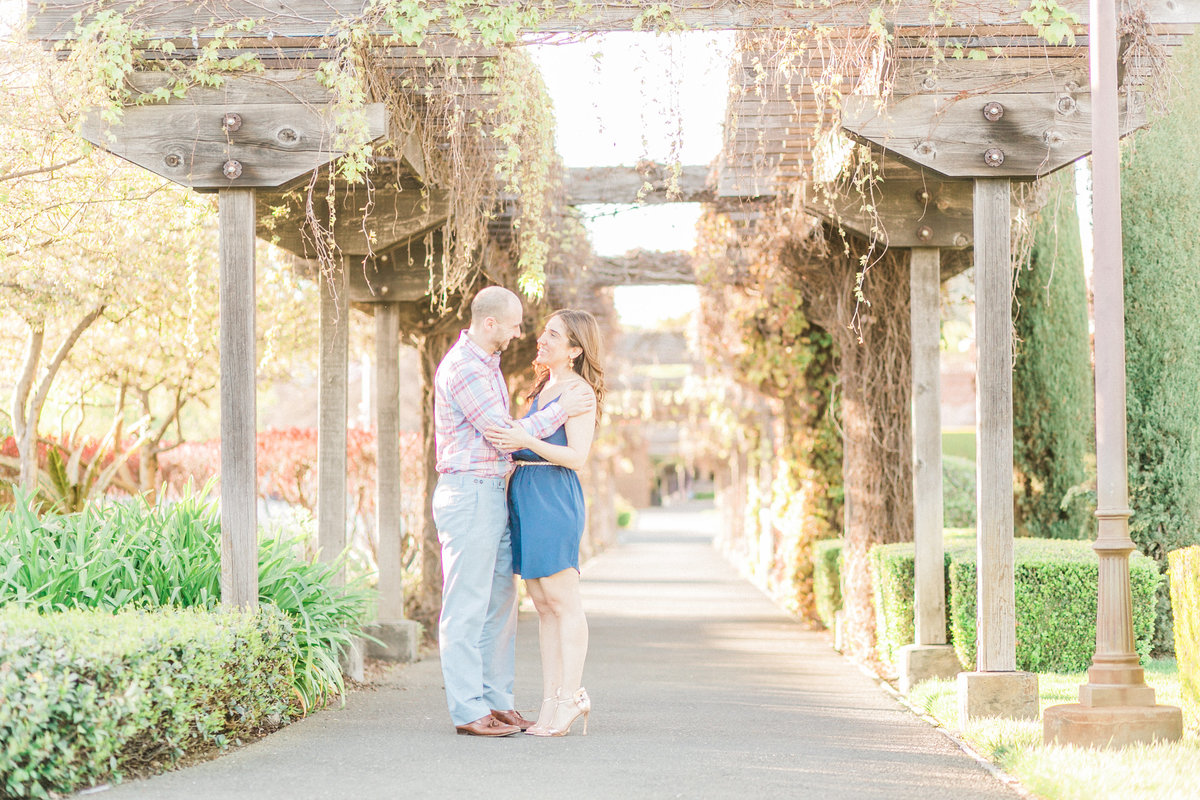 V Marketplace Engagement Session Napa Yountville