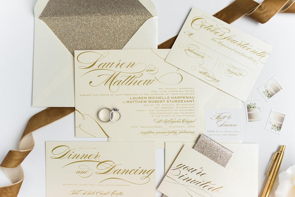 Hello Invite Design Studio Cincinnati Worldwide Wedding