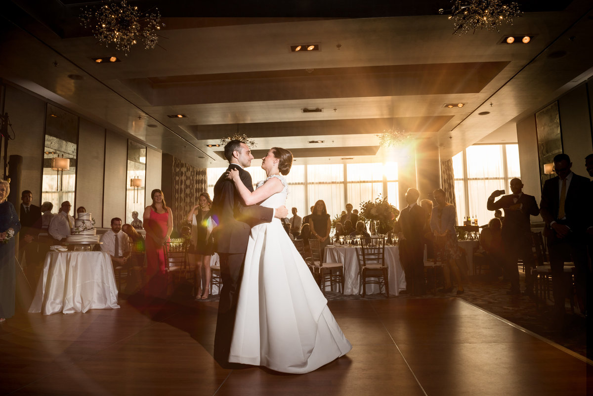 first dance at the Ritz hotel