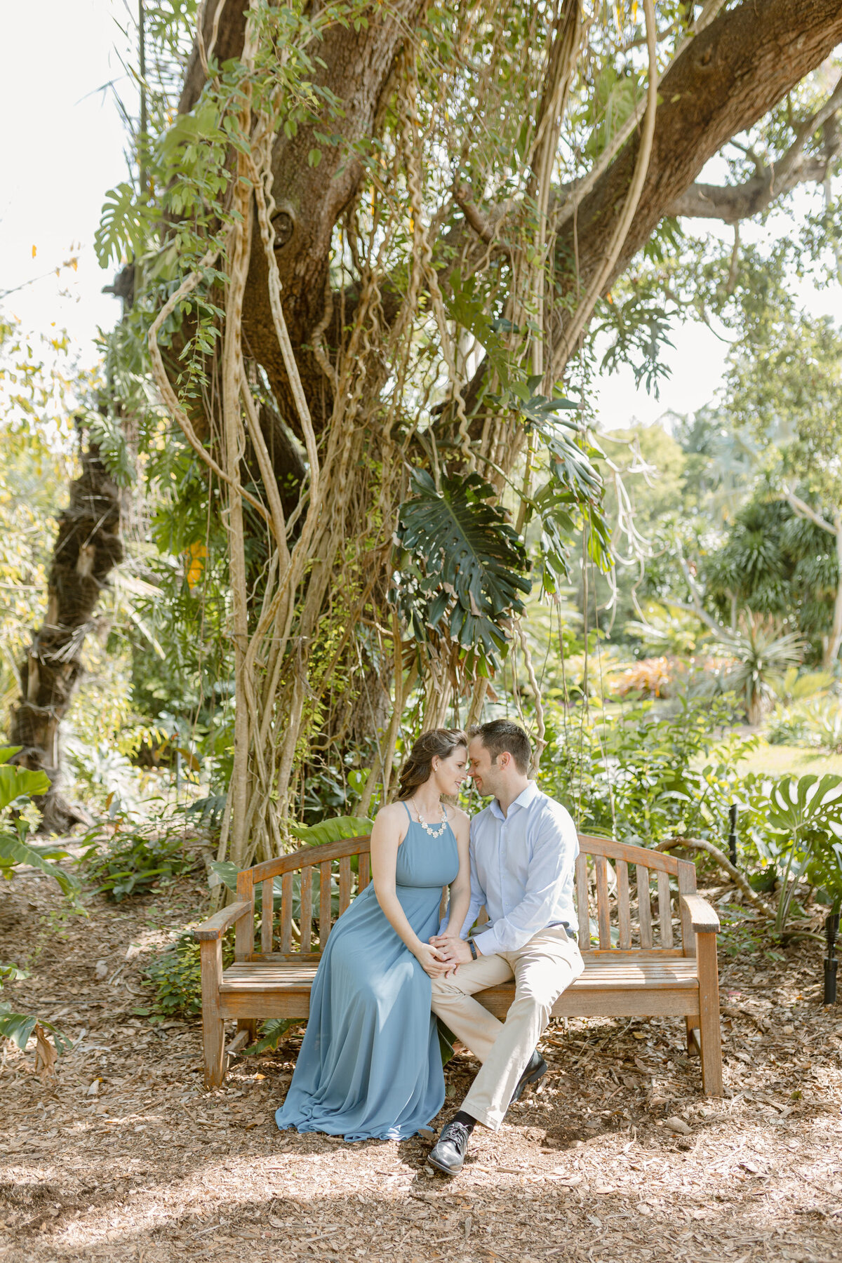 Fairchild Tropical Gardens Engagement Photography Session 2