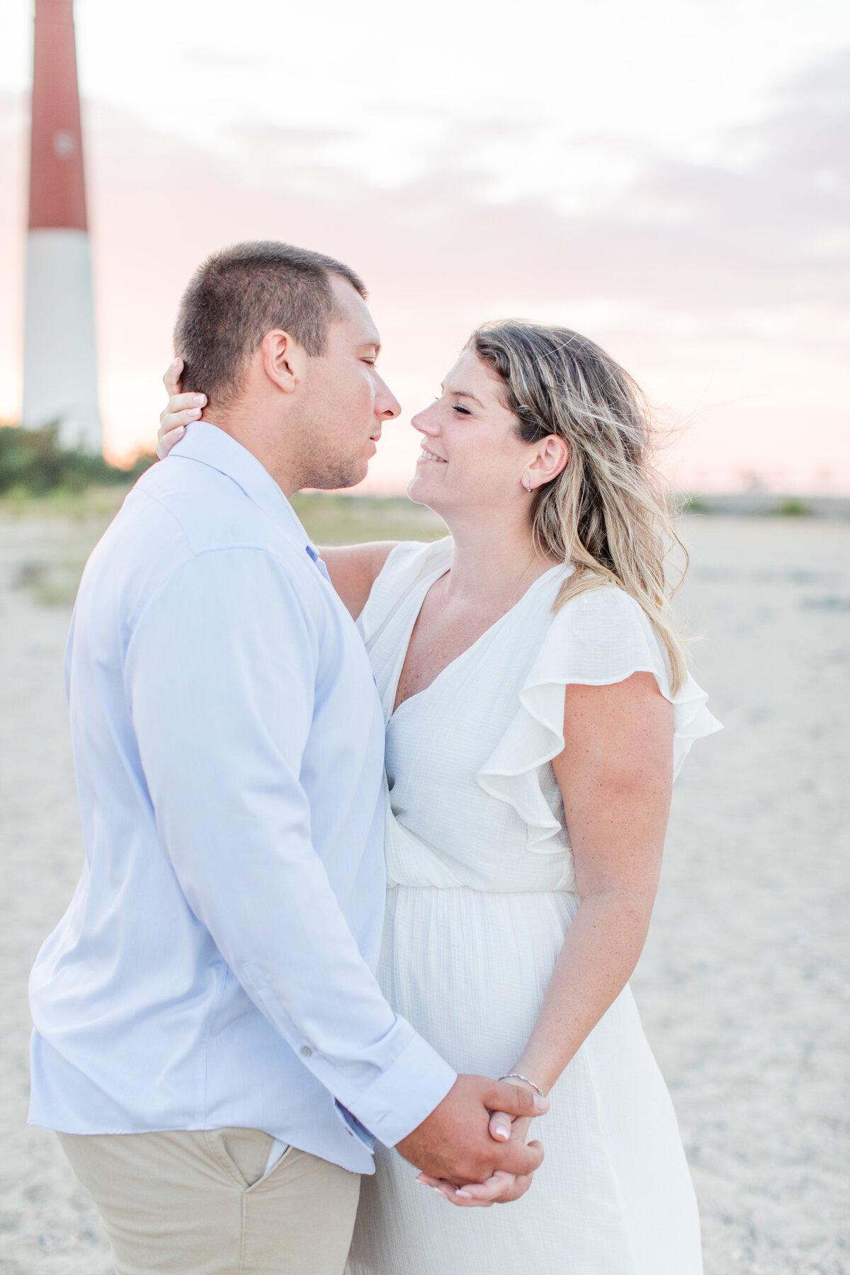 Sunset_Barnegat_Lighthouse_Engagement_Family_Session-37