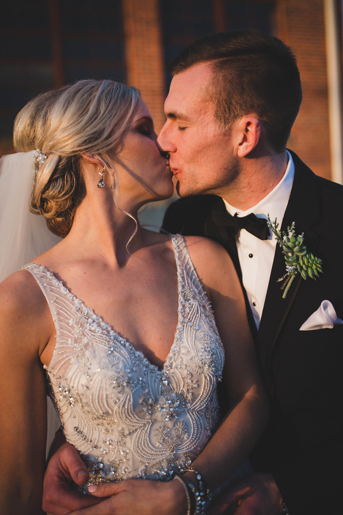 sunset-kiss-southwest-virginia-wedding