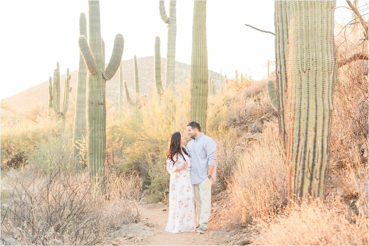 Phoenix Arizona Wedding Photographers | Jennifer + Chris | Cave Creek Engagement Session_0014