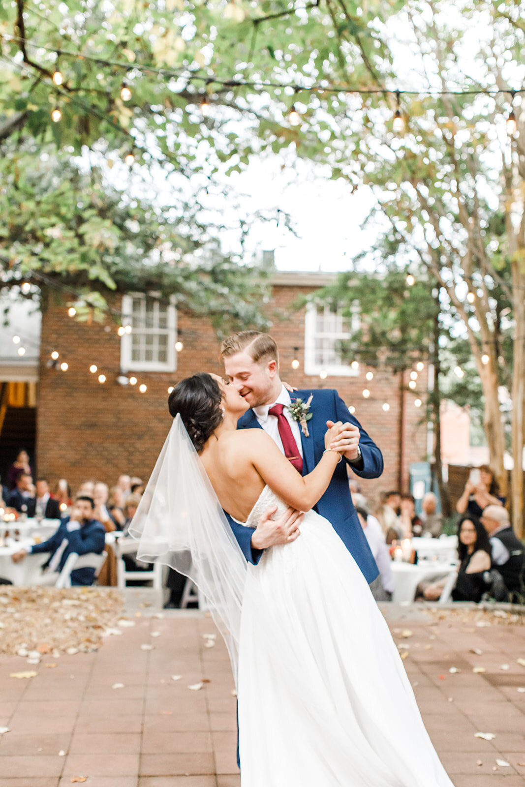 Virginia Wedding Photography at Linden Row Inn 2
