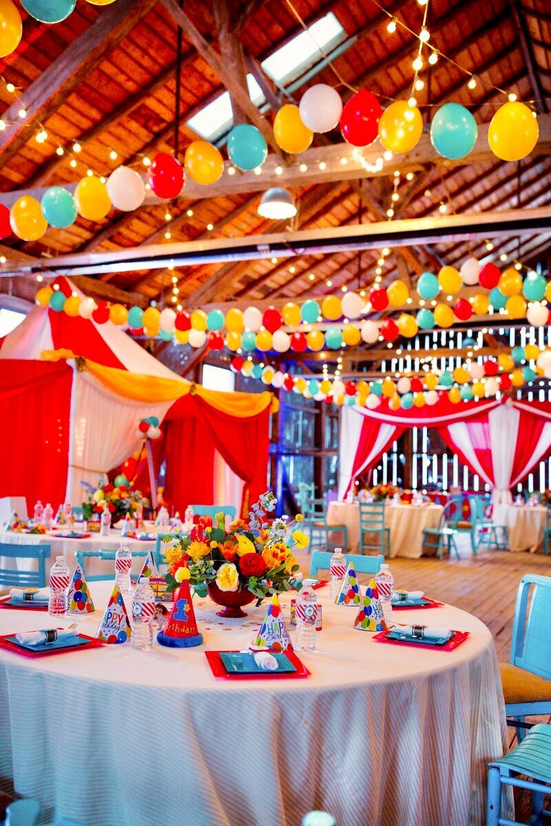 Circus Themed 1st Birthday Indianapolis Party Planner_0135