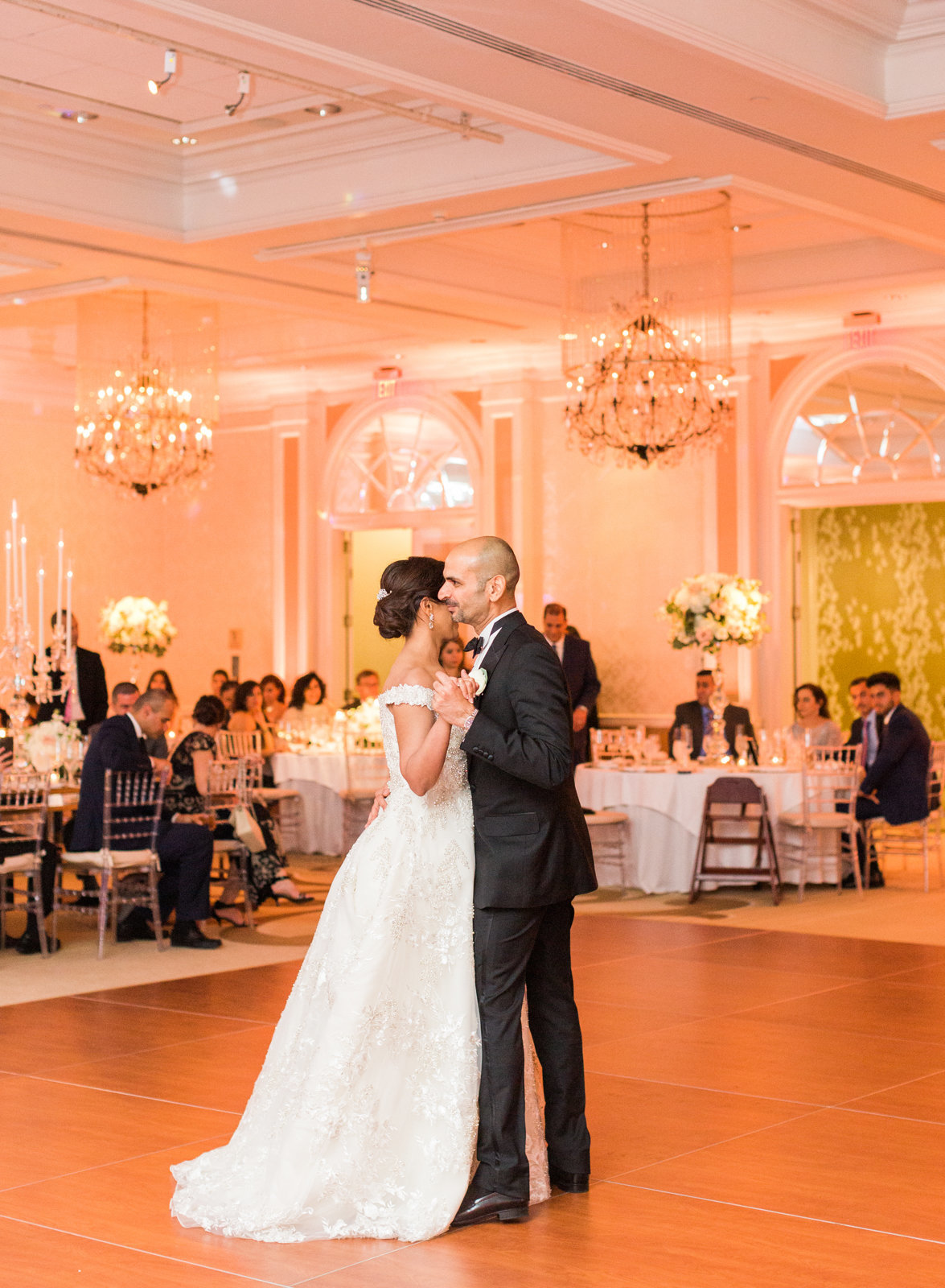 Luxury Persian wedding photographer DC