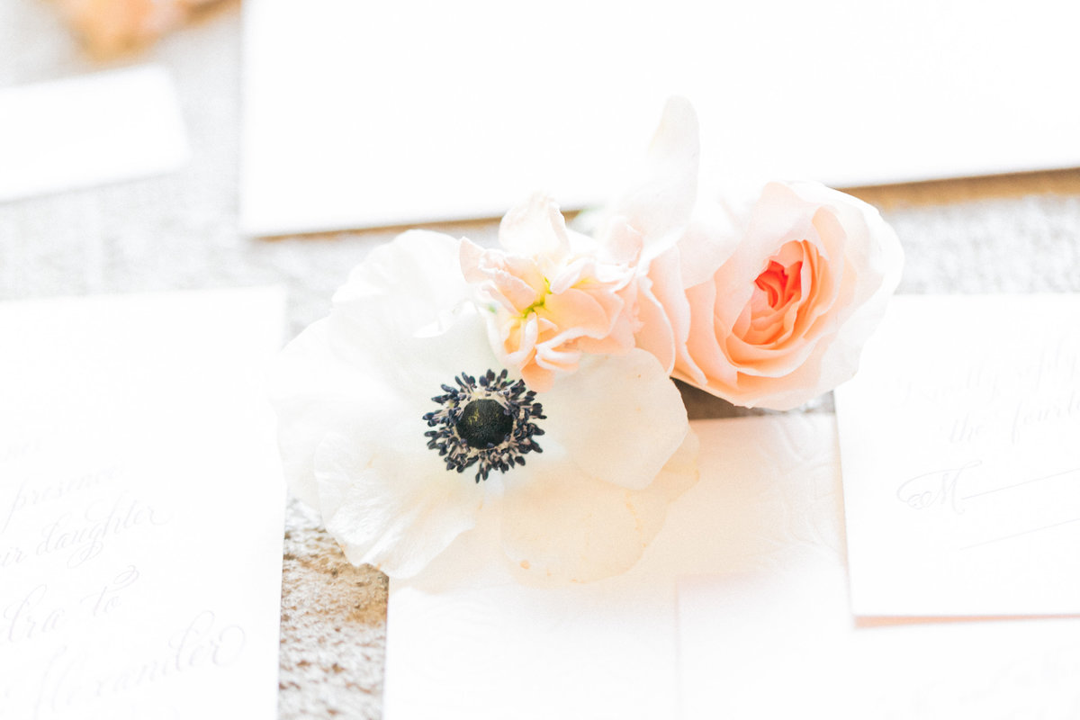 White Invitation Suite