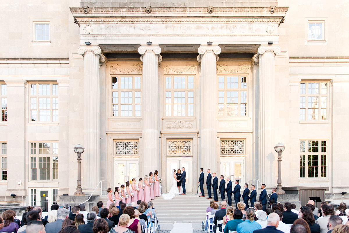 COSI columbus wedding