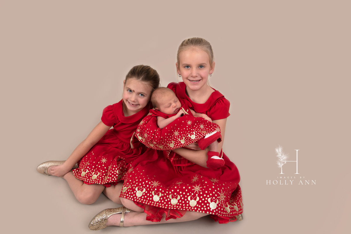 family christmas studio portrait session glens falls ny