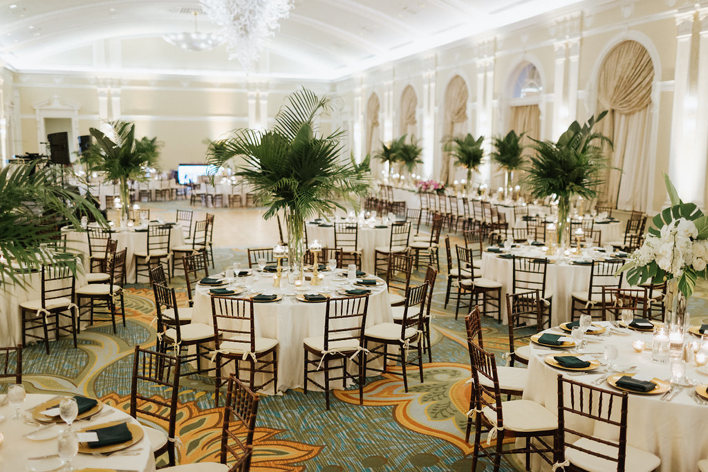 Tropical Elegant Wedding Design
