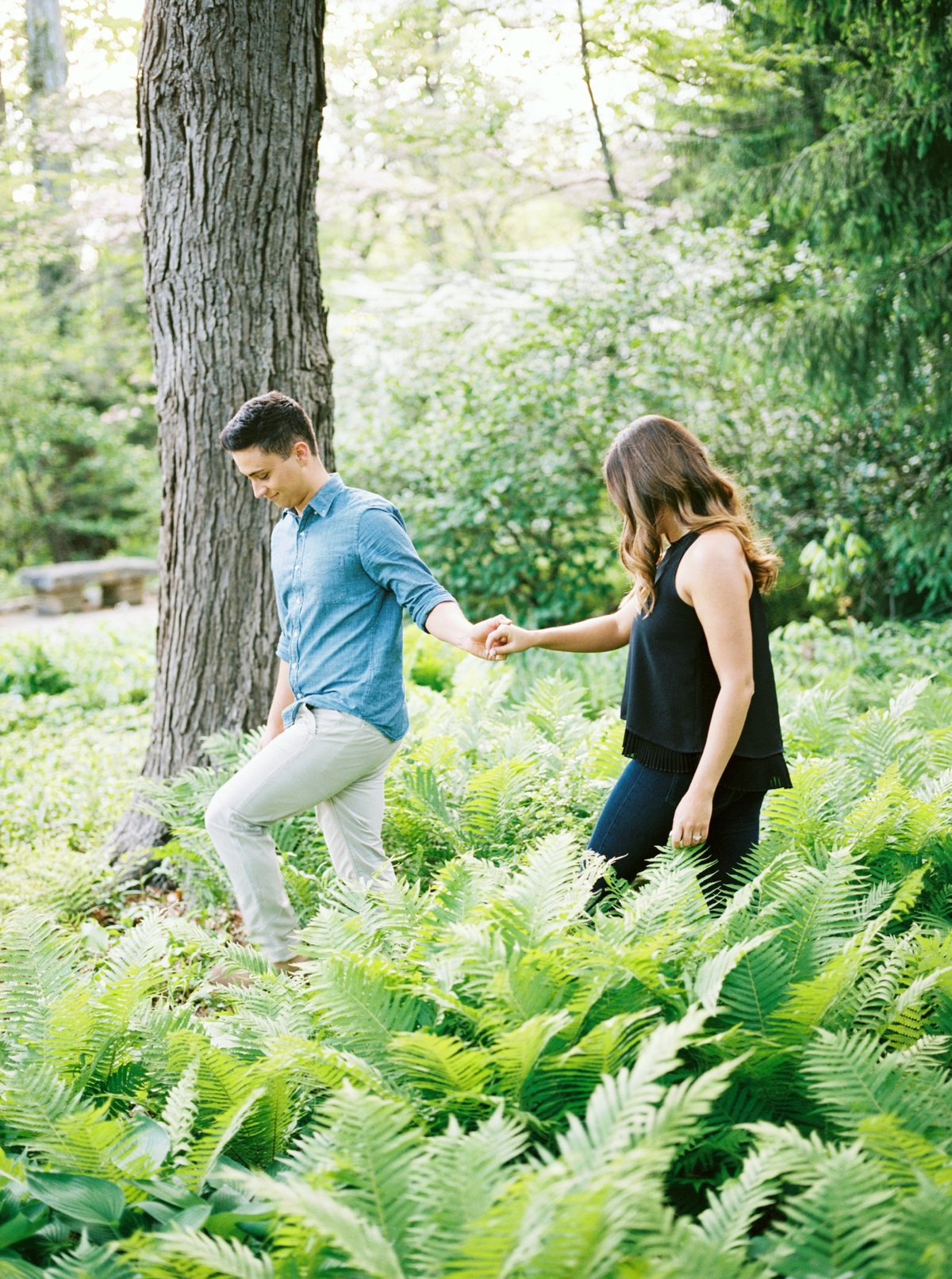 Columbus Ohio Engagement Session, Fine Art Film