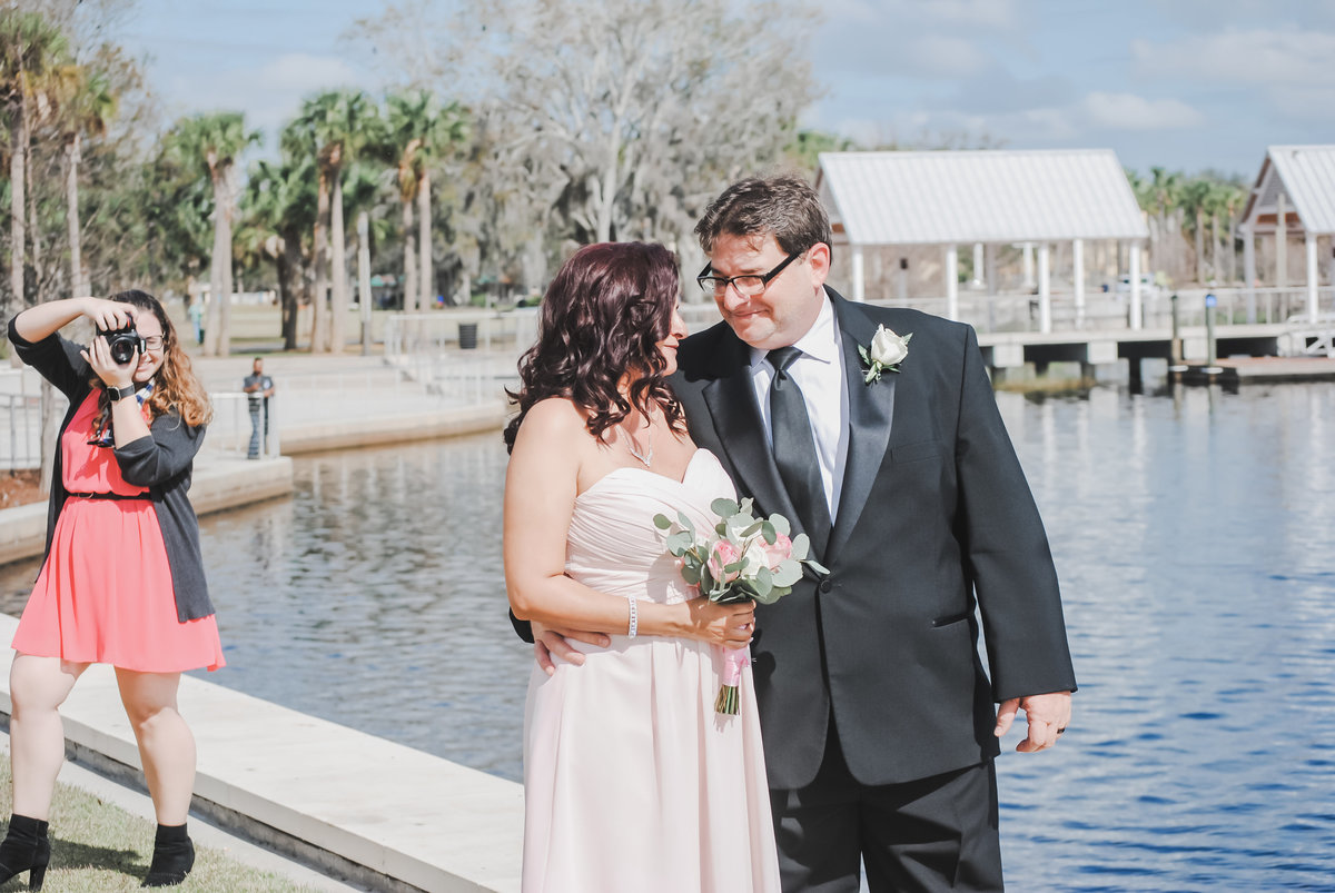 Kissimmee Lakefront Wedding BTS-1