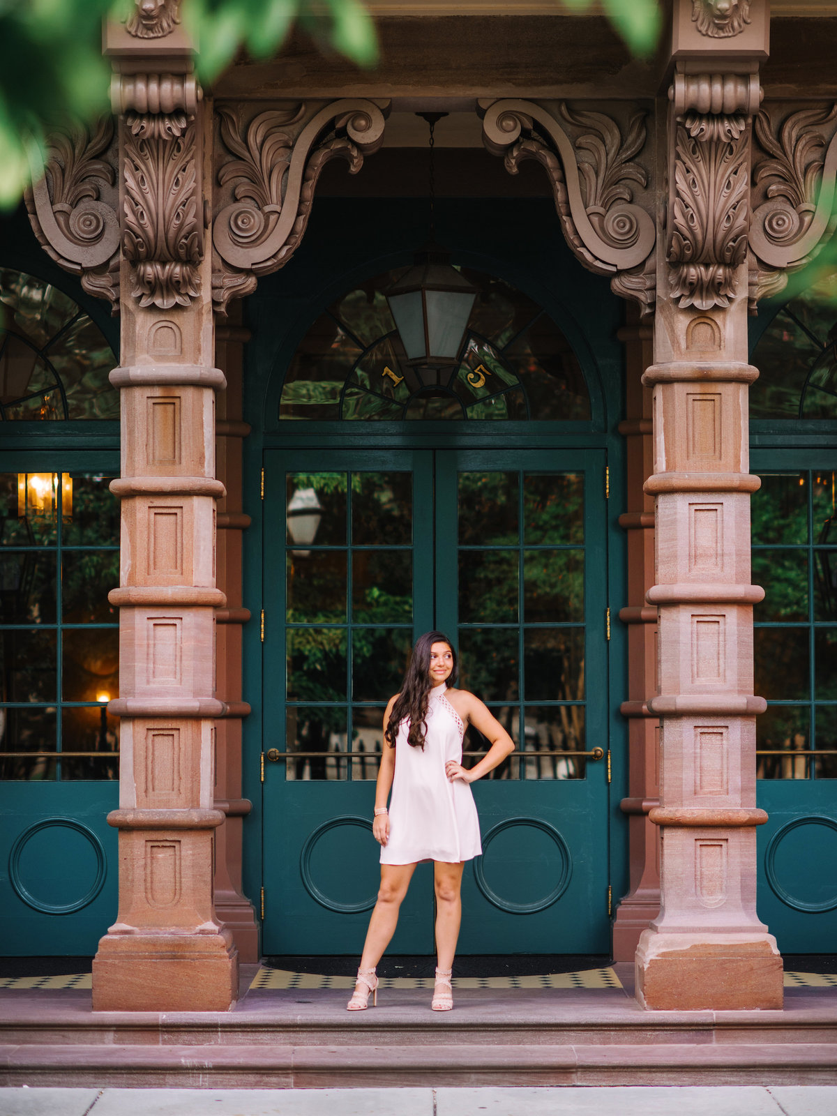 Charleston Battery and Rainbow Row Senior Portraits