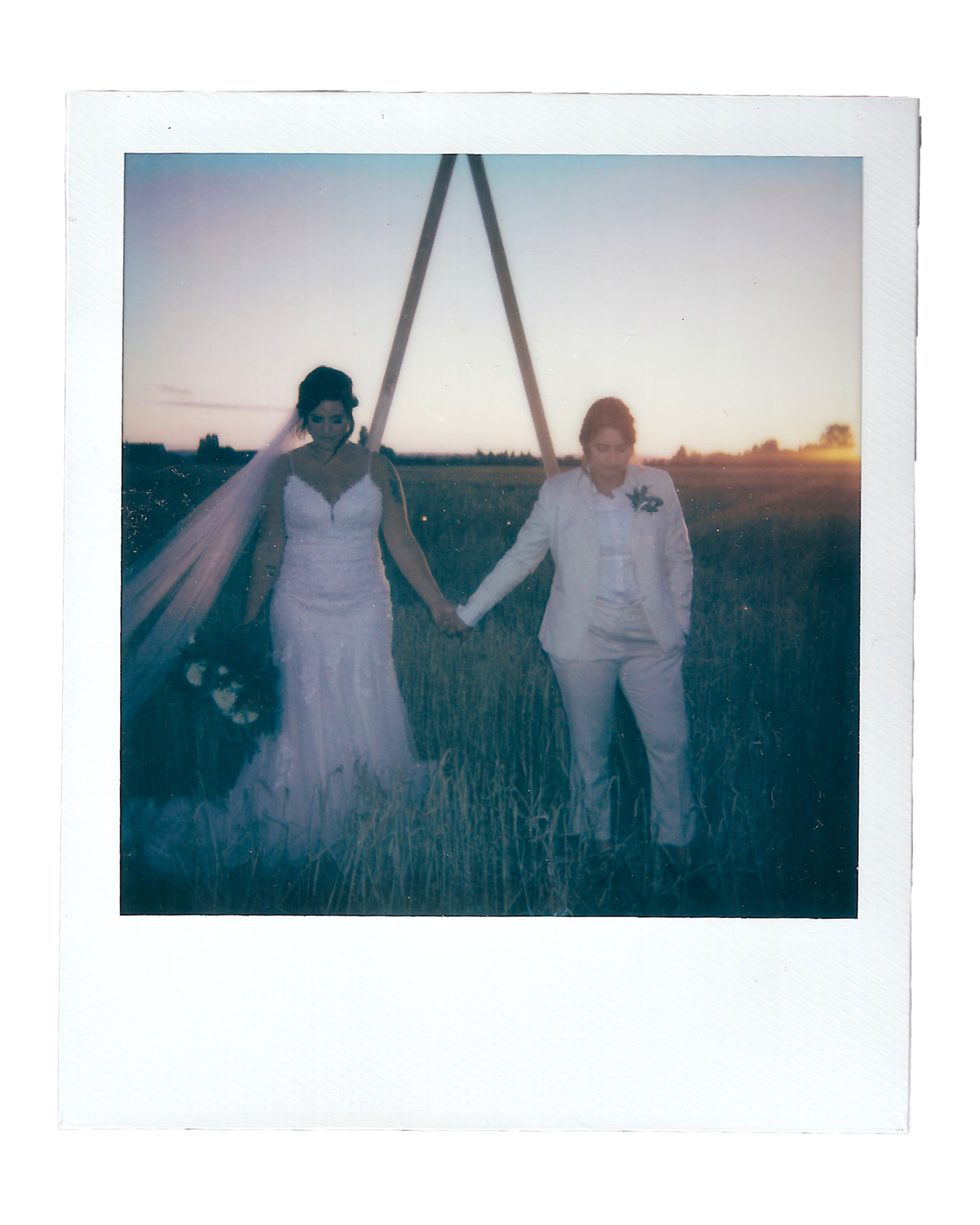 Becca + Katie | The Saltbox Barn - Fir Island, WA | Polaroids00025