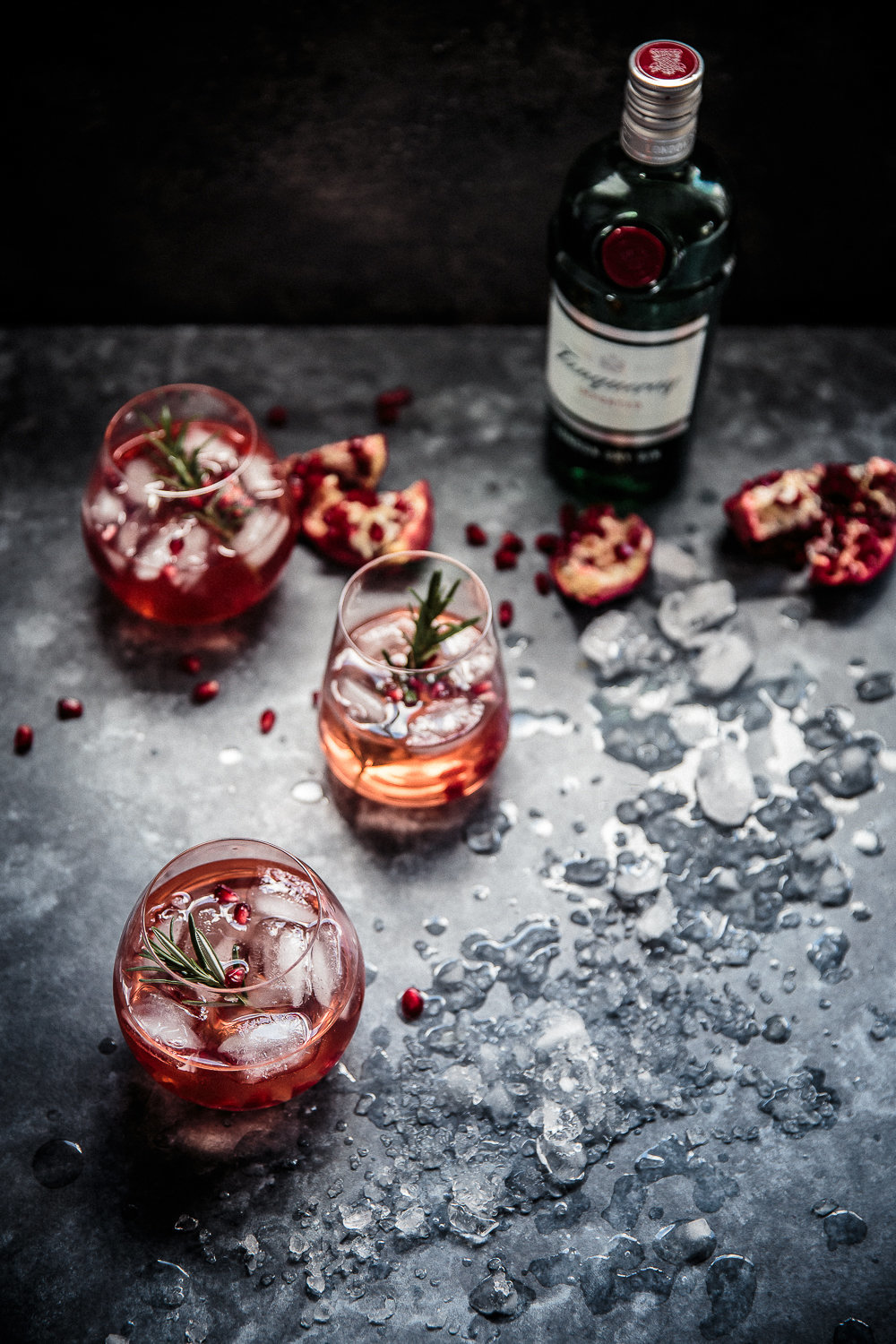 Pomegranate, Rosemary and Gin Fizz | Anisa Sabet | The Macadames-2-2