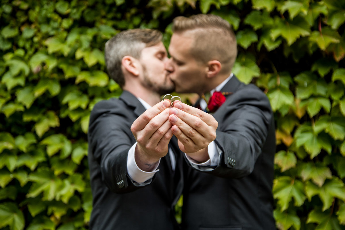 Michael & Darren - Minnesota LGBT Wedding Photography - Courtyard by Marriott - RKH Images - Portraits (123 of 172)