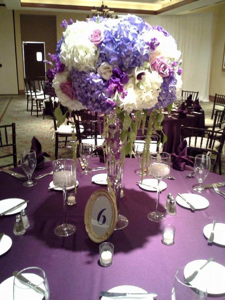 Parkland Golf Purple weddings