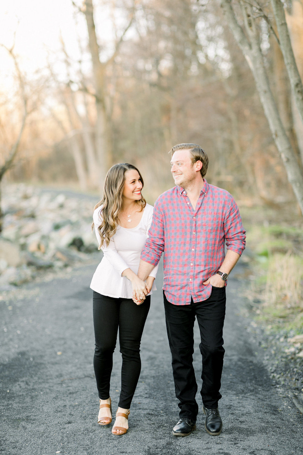 Ashley & Lou_Engaged_Path_1055