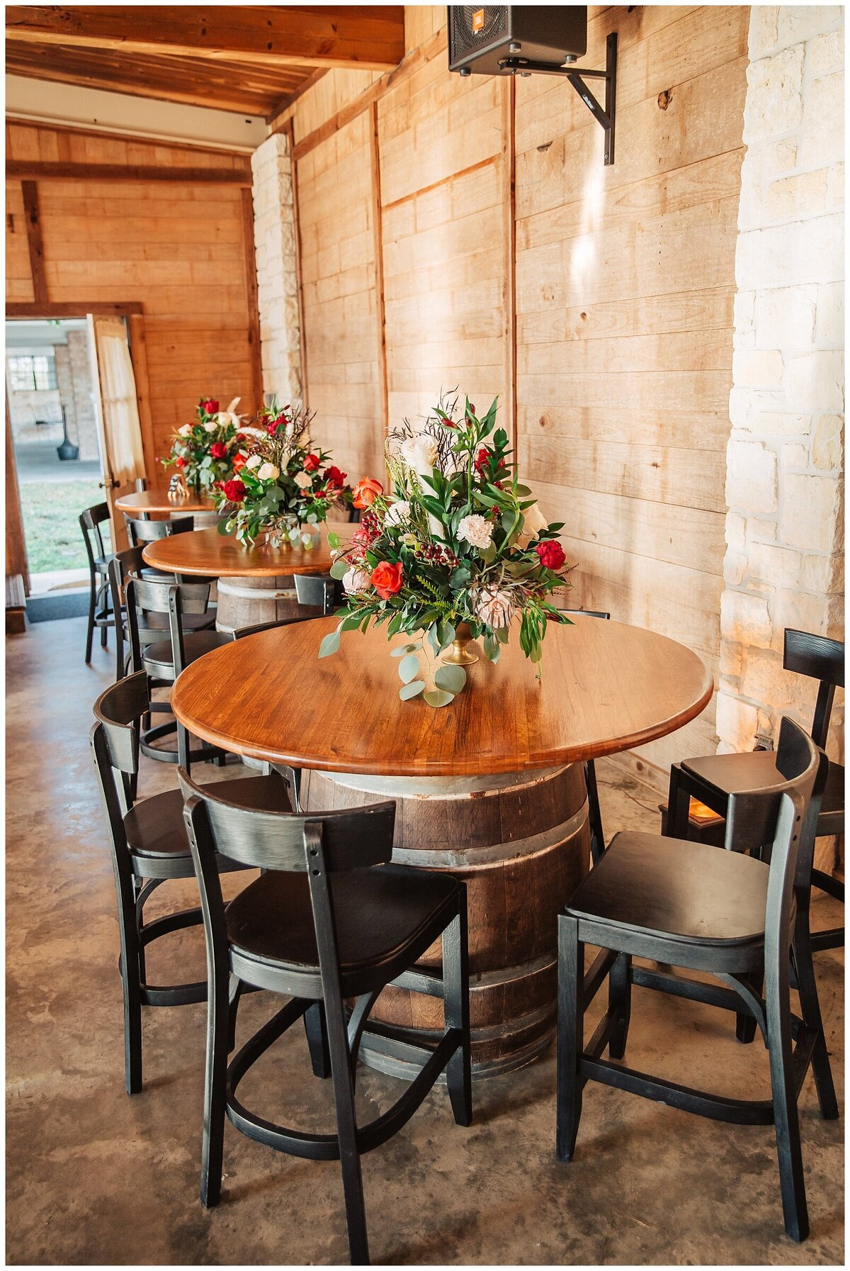 Rustic Burgundy and Blush Indoor Outdoor Wedding at Emery's Buffalo Creek - Houston Wedding Venue_0678