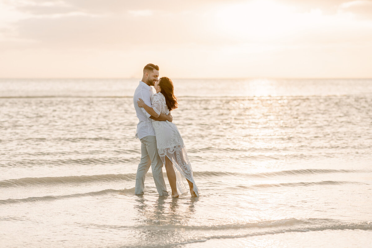 Beach Elopement in Saint Petersburg, Florida 38