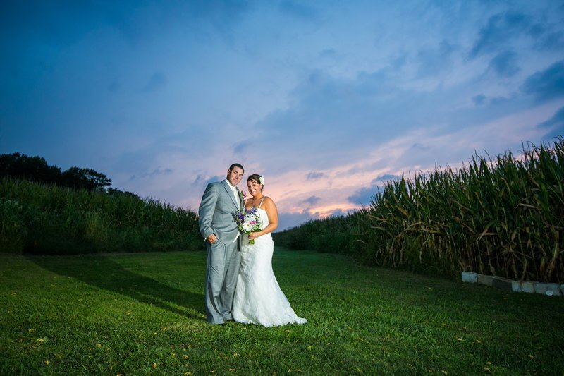 Baltimore wedding photographer sunset photos