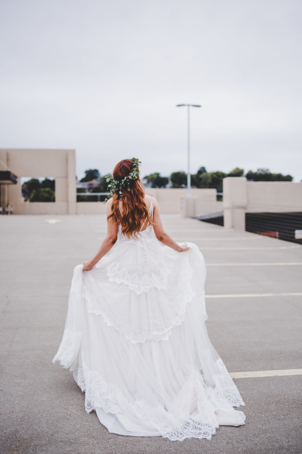 FF6 - White Dress on Parking Ramp (20 of 145)