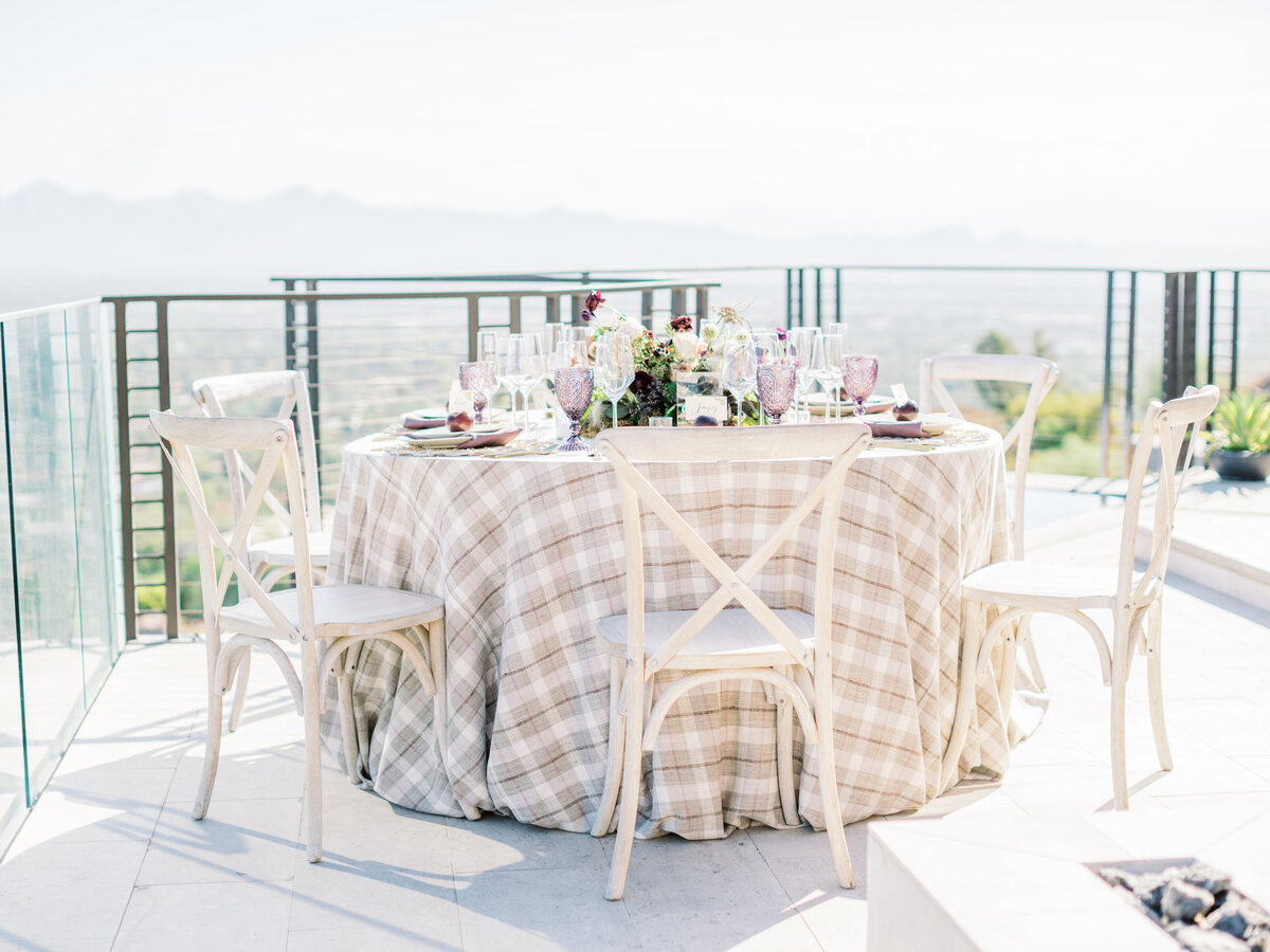 Your Jubilee Arizona wedding planner The Sanctuary La Tavola