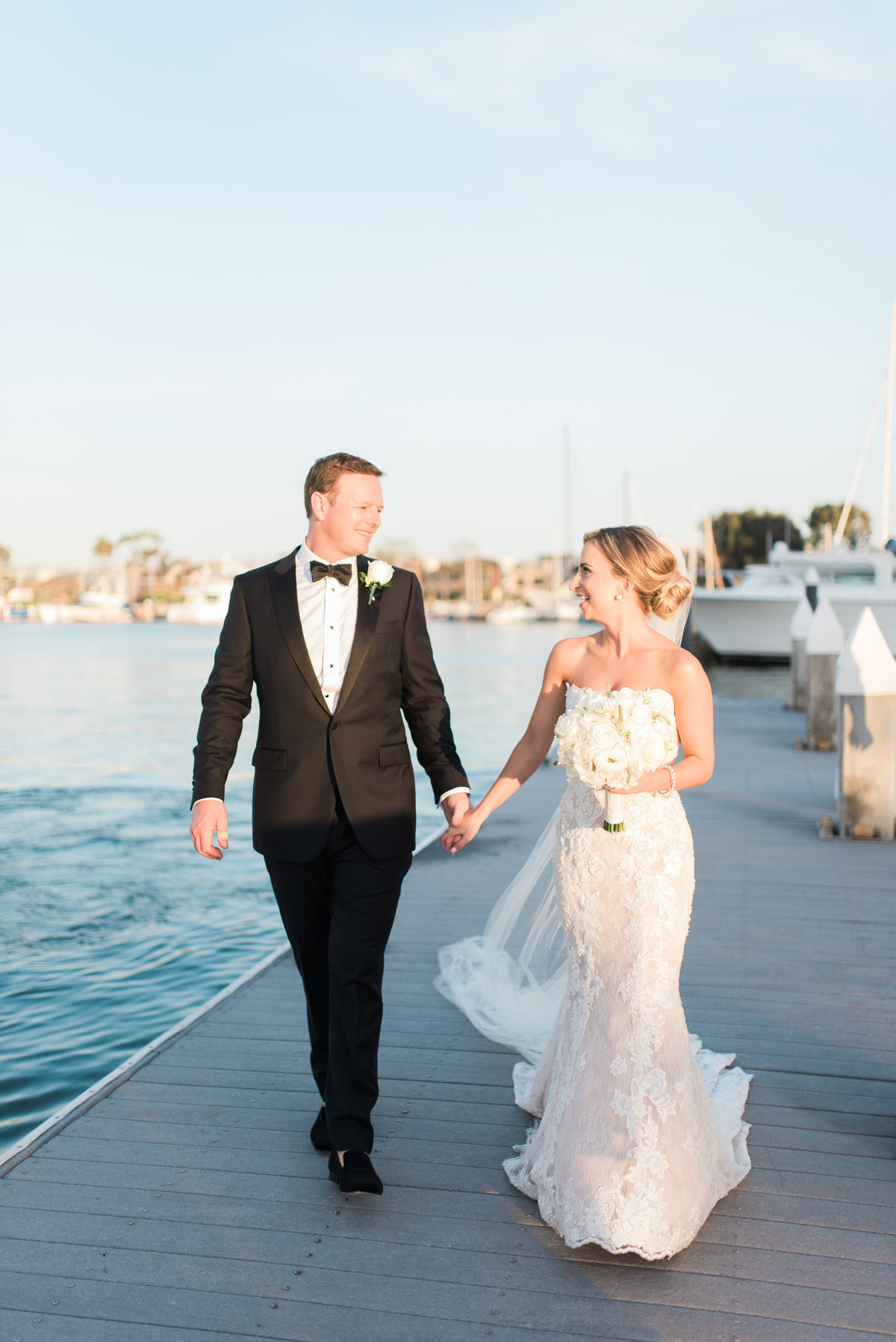 High Res Jon and Paige Newport Harbor Yacht Club Wedding _ Hello Blue Photo -687