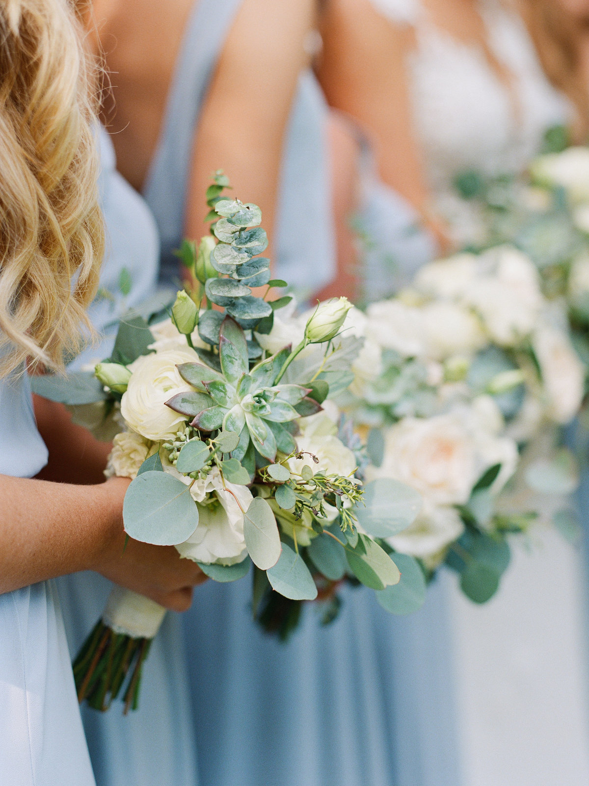 Bridesmaid Bouquet Greystone at Piedmont Park Wedding