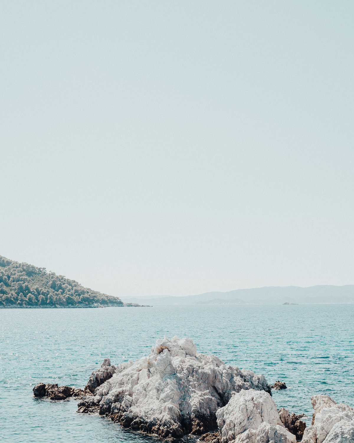 greek sea scape