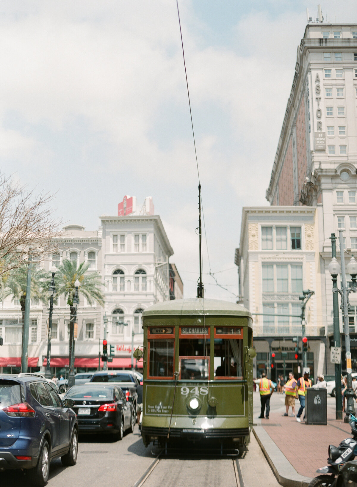 New Orleans Trolley Wedding