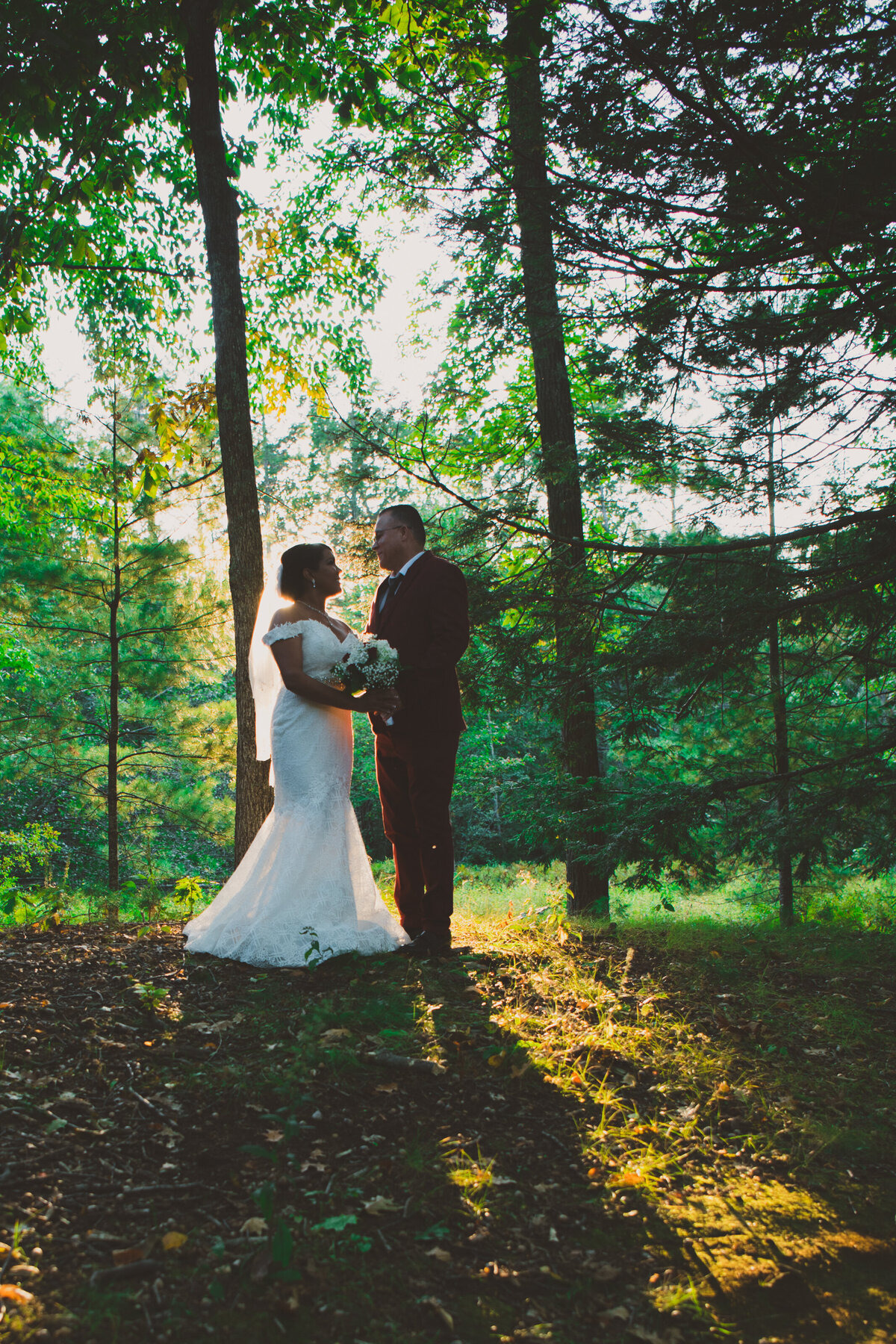 MAudsley State Park Wedding Ceremony Photos