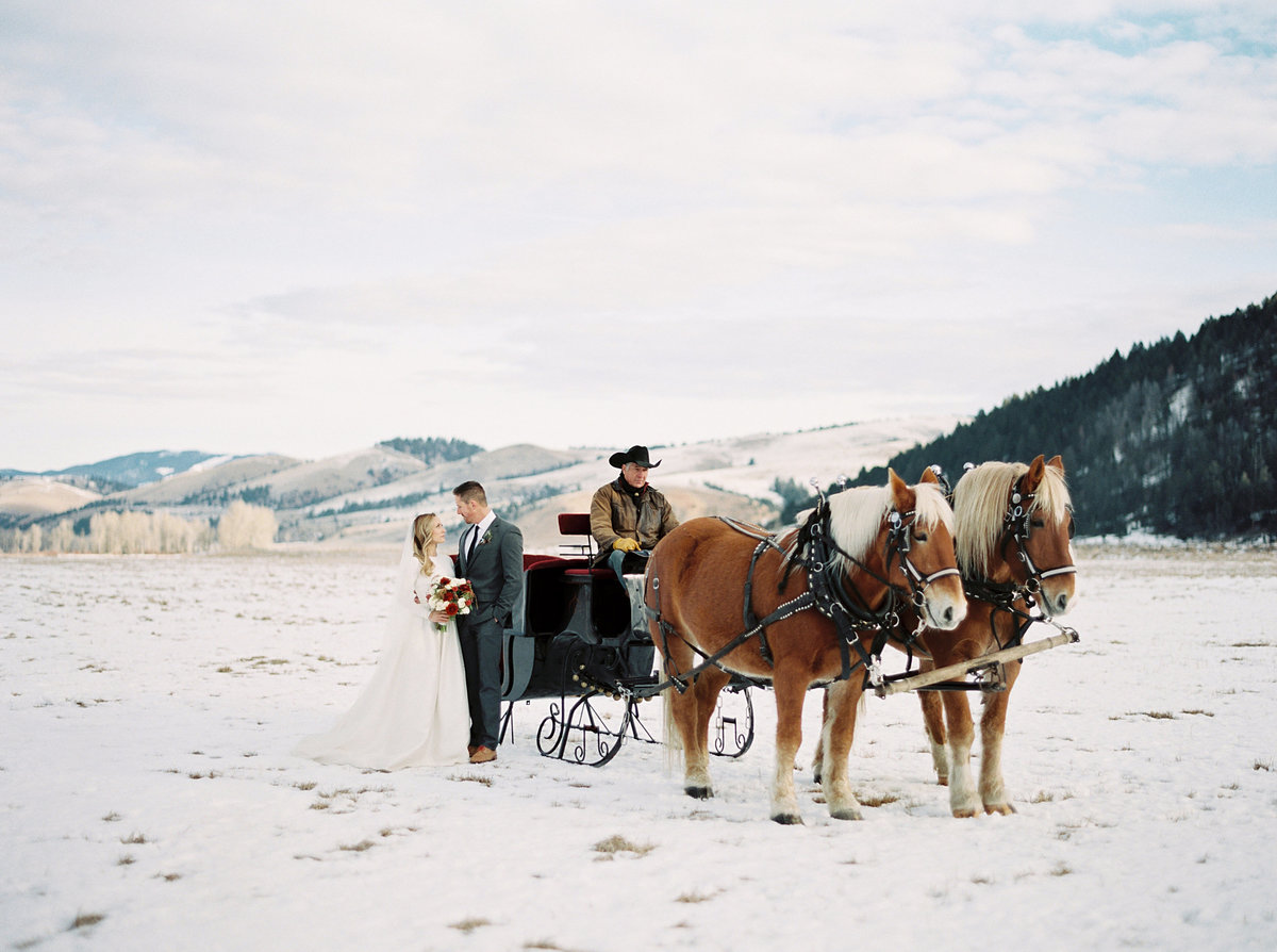 winter-wedding-carriage-snow-horses