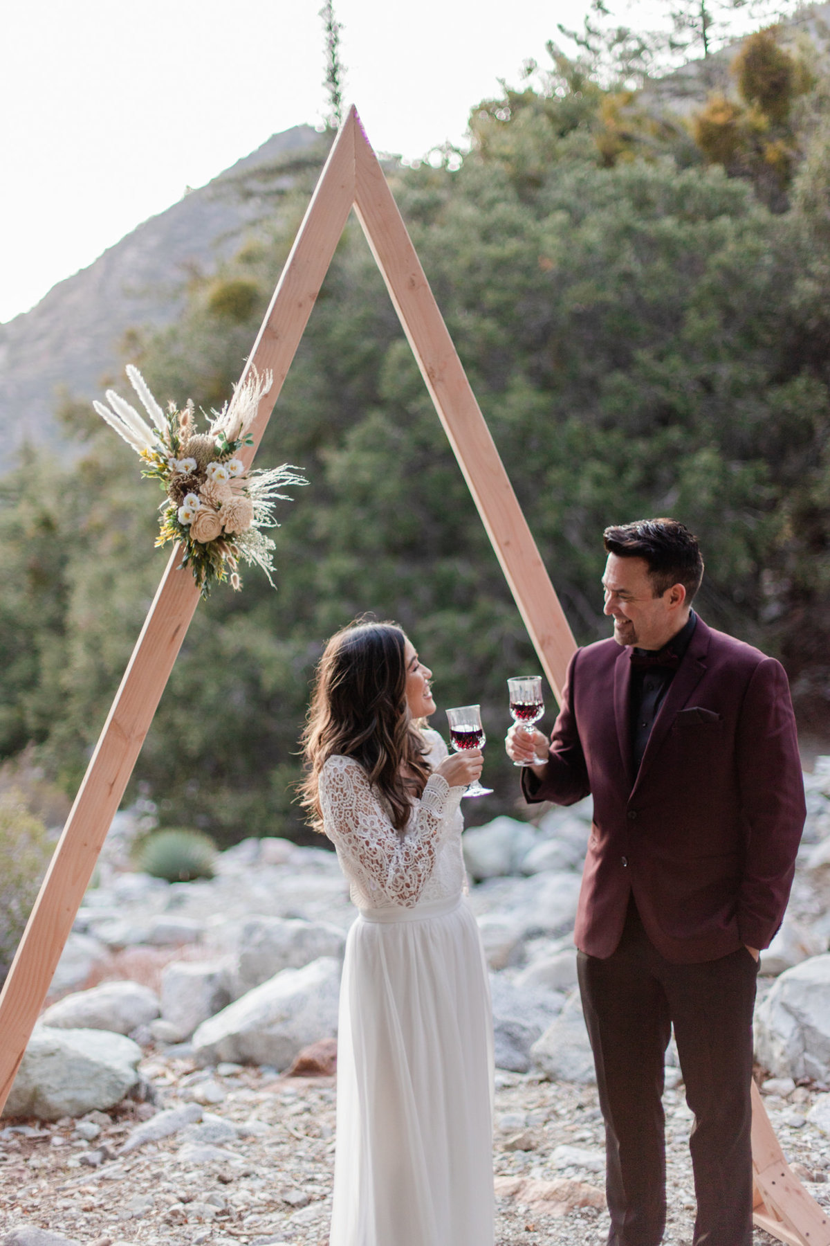 Mt. Baldy Elopement, Mt. Baldy Styled Shoot, Mt. Baldy Wedding, Forest Elopement, Forest Wedding, Boho Wedding, Boho Elopement, Mt. Baldy Boho, Forest Boho, Woodland Boho-51