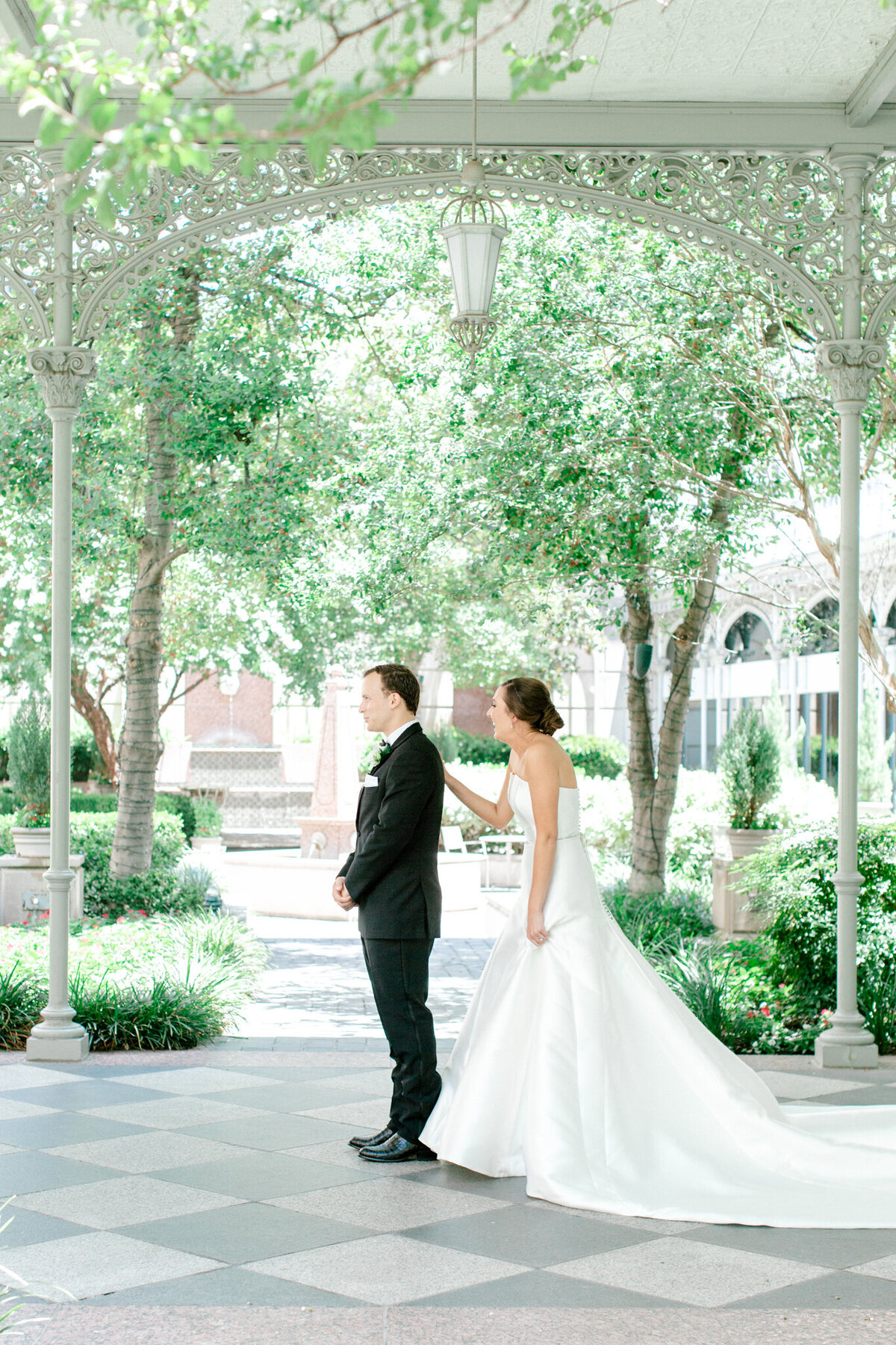 Wedding at the Crescent Court Hotel and Highland Park United Methodist Church in Dallas | Sami Kathryn Photography | DFW Wedding Photographer-48