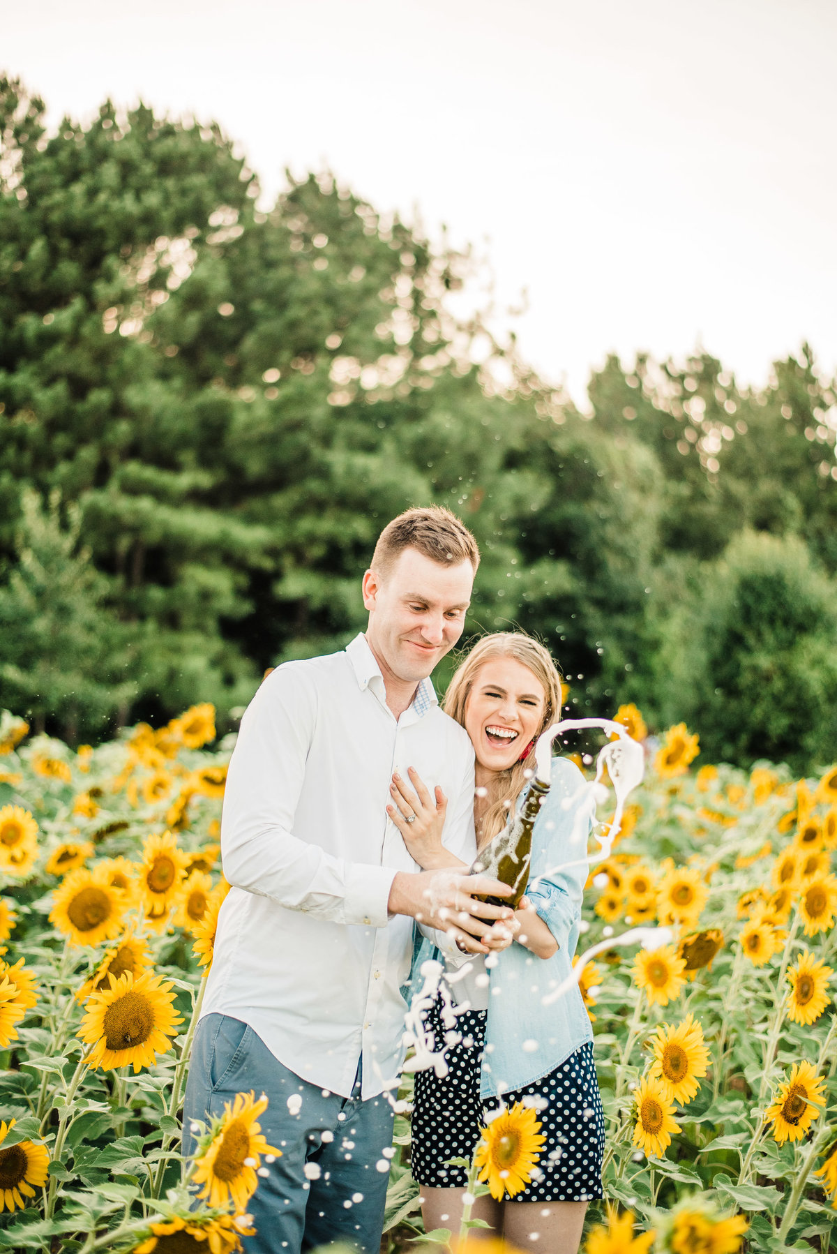 Leah and Andrew Sunflowers-19 copy