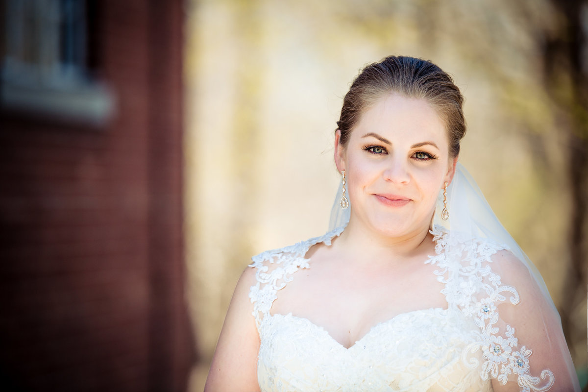 davenport wedding - bridal portrait