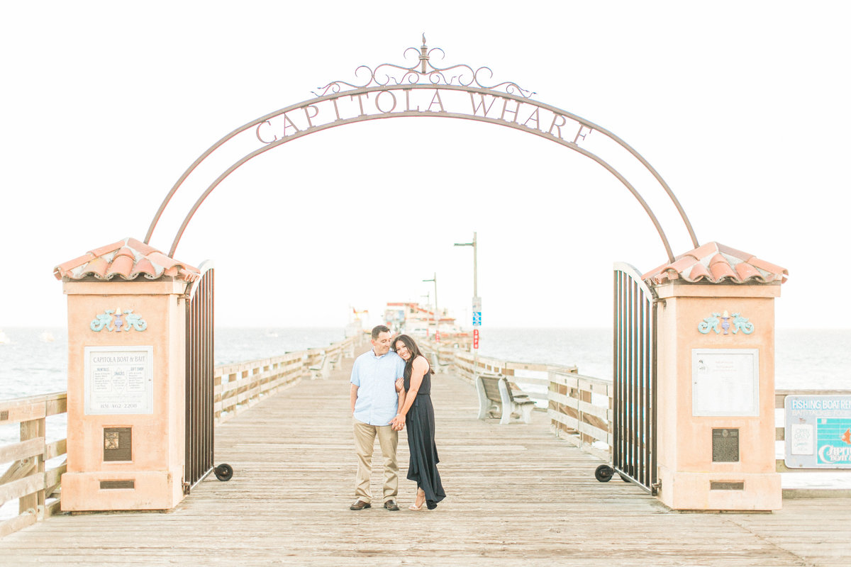 Santa Cruz Engagement Photos Capitola Wharf