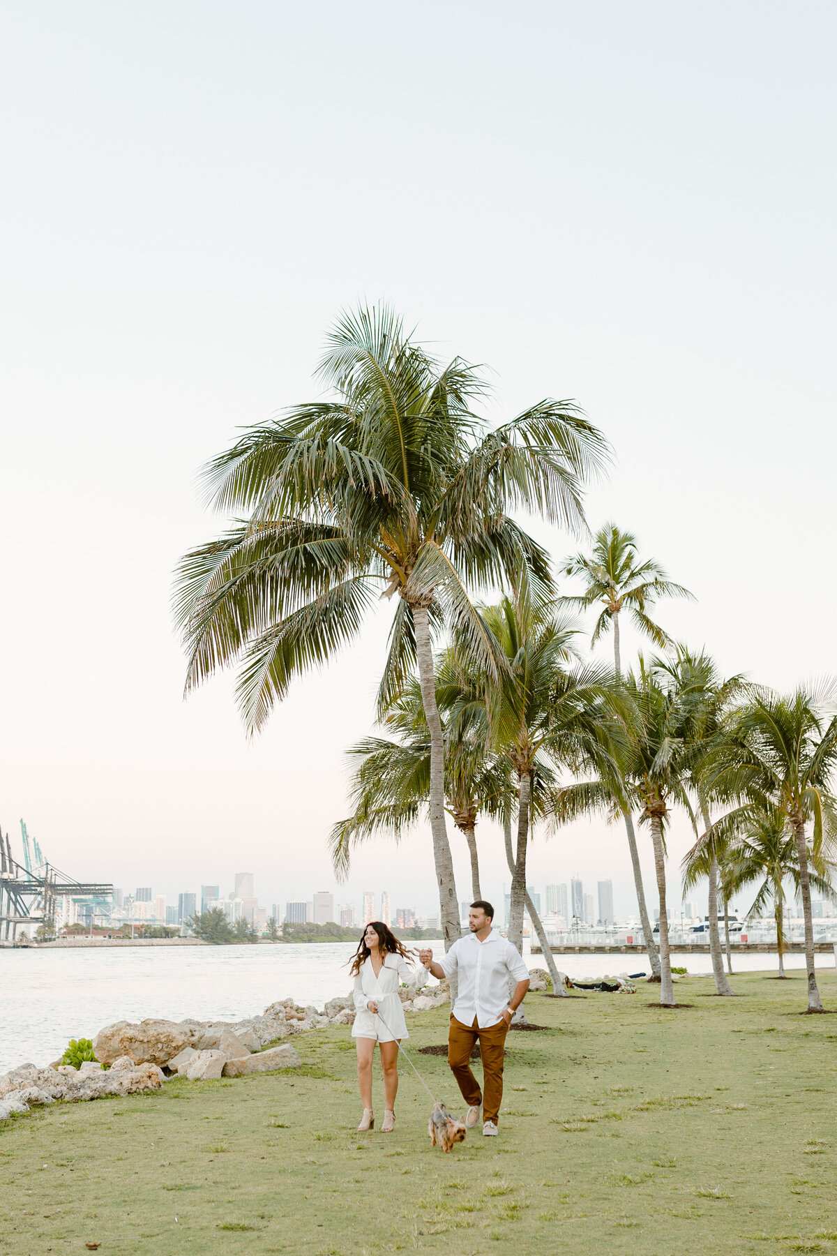 South Pointe Park Engagement Photography Session 1