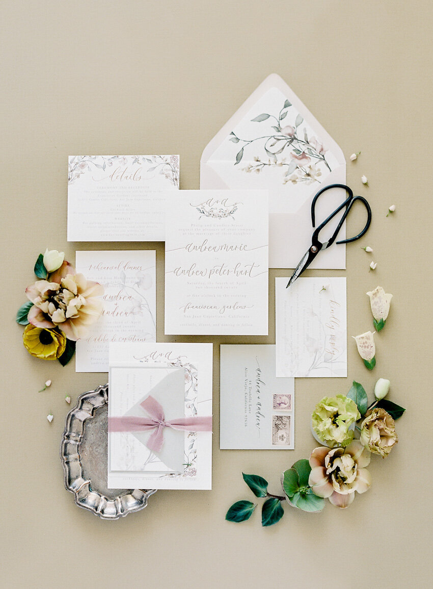 pirouettepaper.com | Wedding Stationery, Signage and Invitations | Pirouette Paper Company | Invitation Styling and Flatlays | Sposto Photography 045