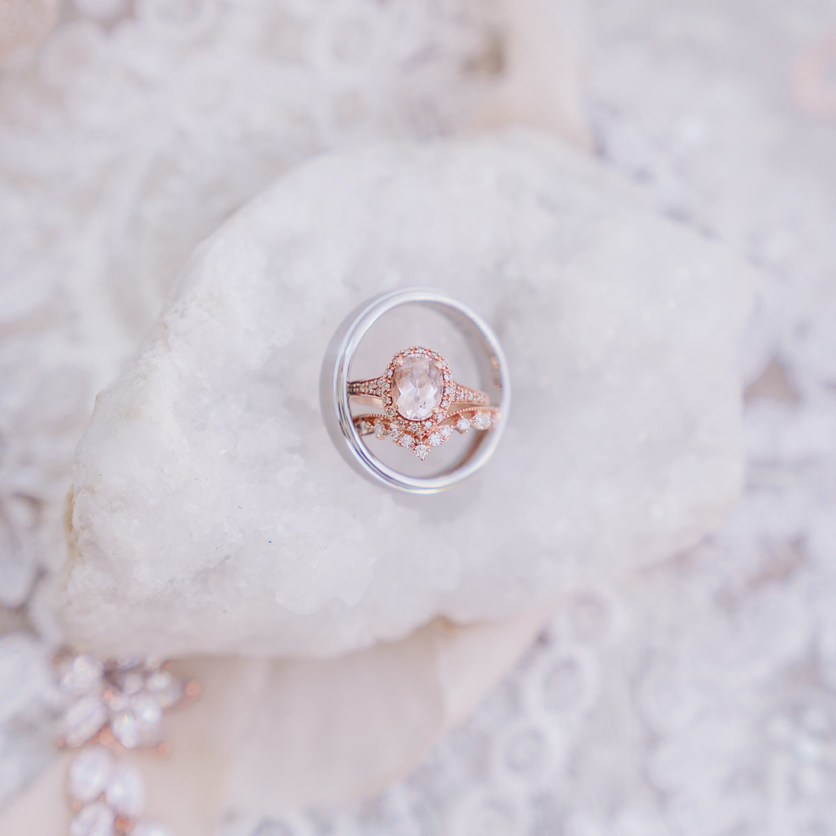 misty farm bride groom wedding rings ann arbor mi