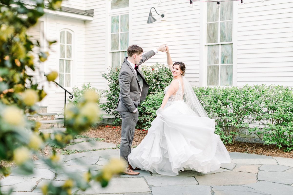 The Parlour Chapel Hill Wedding