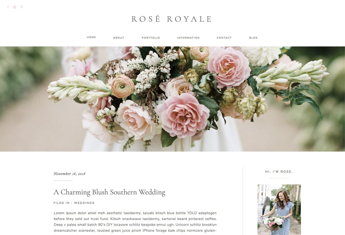 Rose Blog Single Post