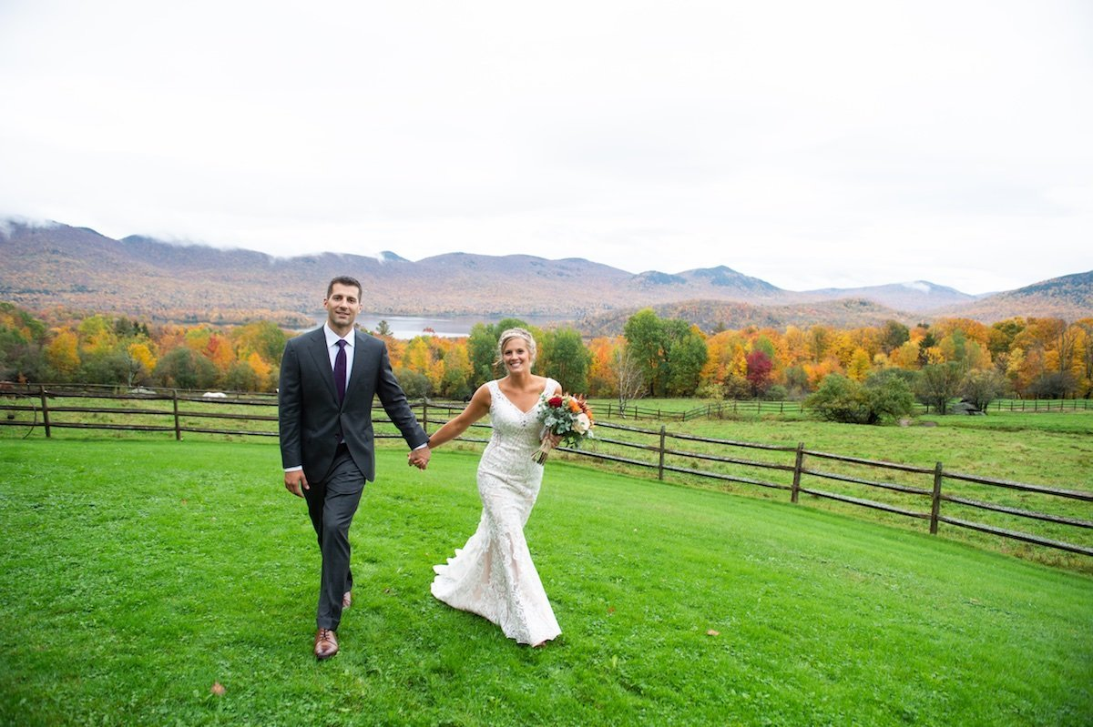 Mountain Top Inn recommended Vermont wedding photographers