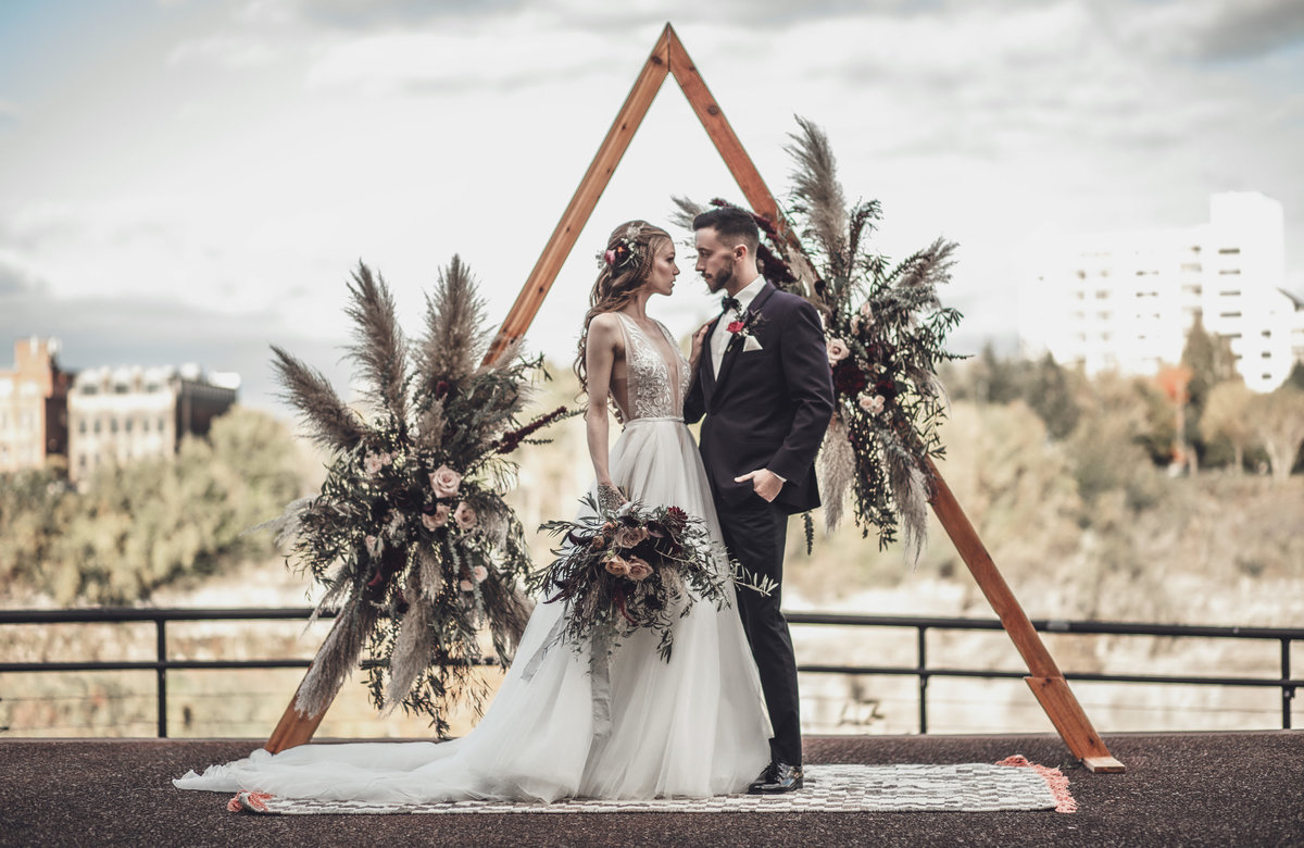 Boho Edgy Fall Wedding Inspiration - Rochester NY - Verve Event Co (4)