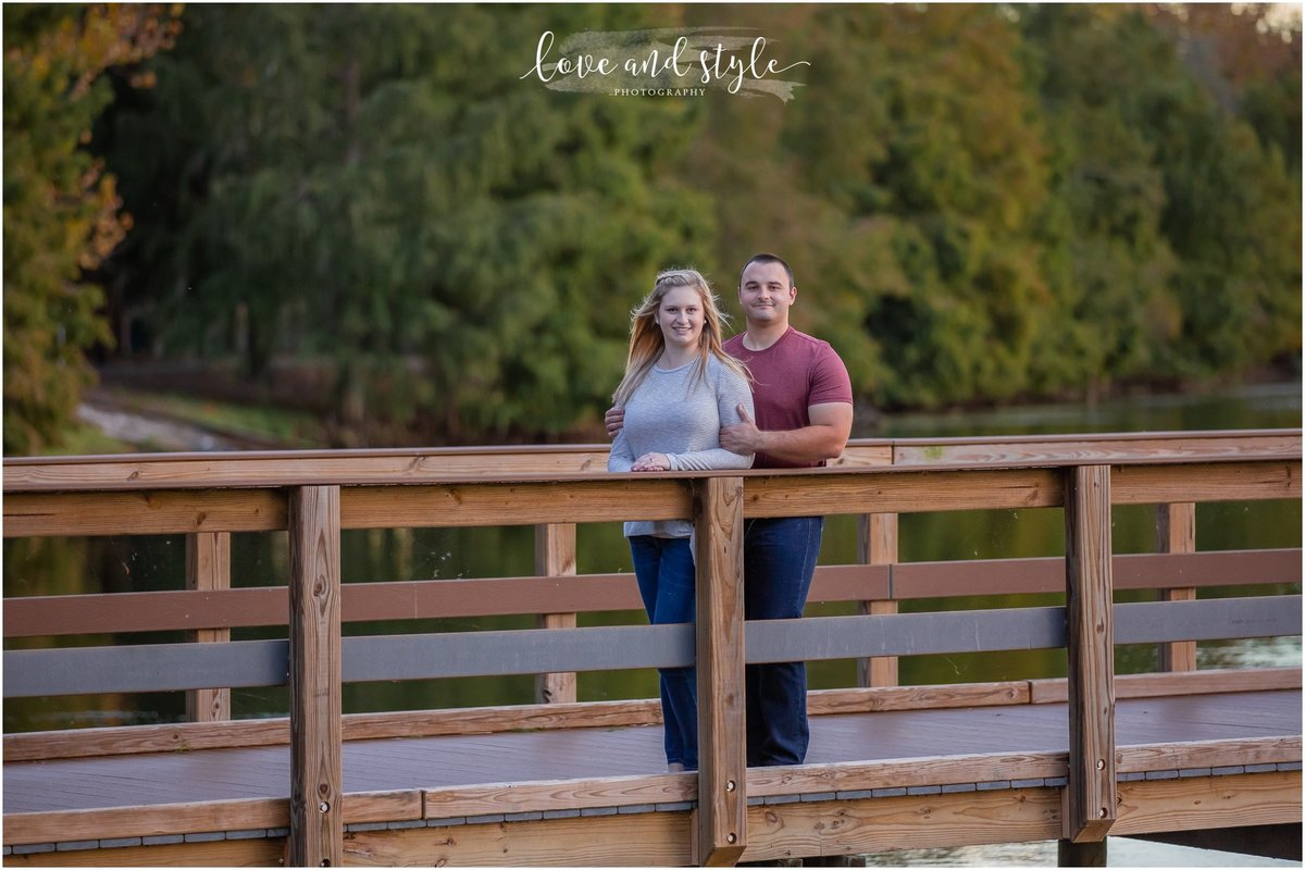 Engagement Photography at Heritage Harbour Park in Bradenton, FL
